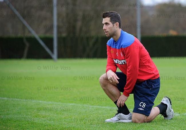 Carlos Bocanegra at training