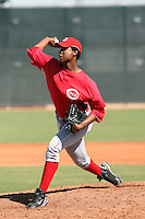 Jesus Adames - Cincinnati Reds, 2009 Instructional League.Photo by:  Bill Mitchell/Four Seam Images..