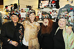 """- who tried on Jane Elissa's many Hats for Health on September 10, 2010 at the New York Marriott Marquis, New York, New York as Daytime's TV and  Broadway stars get involved in helping launch Jane Elissa's """"Hats For Health"""" to promote awareness and to raise money for Leukemia and cancer research.   (Photo by Sue Coflin/Max Photos)"""