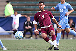 13 November 2011: Boston College's Amit Aburmad (ISR). The University of North Carolina Tar Heels defeated the Boston College Eagles 3-1 at WakeMed Stadium in Cary, North Carolina in the Atlantic Coast Conference Men's Soccer Tournament championship game.