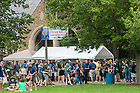Aug. 30, 2014; Knights of Columbus steak sales..Photo by Matt Cashore/University of Notre Dame