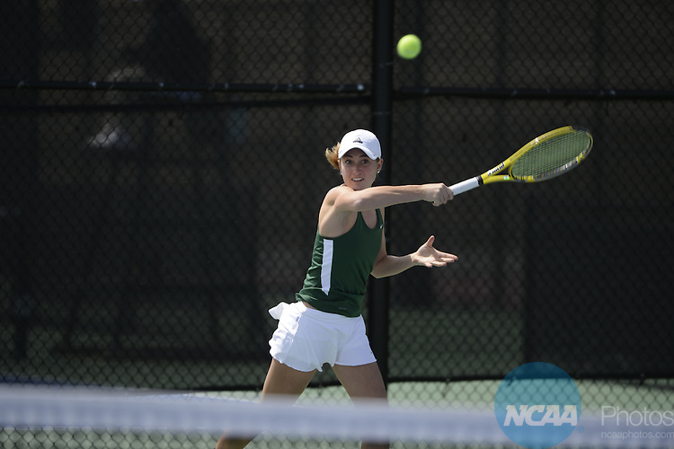 25 APR 2013:  during the 2013 Mountain West Conference Women's Tennis Championship held at the USAFA Tennis Facility on the Air Force Academy campus in Colorado Springs, CO. Justin Tafoya/NCAA Photos