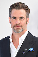 "Chris Pine<br /> arrives for the ""Star Trek Beyond"" premiere at the Empire Leicester Square, London.<br /> <br /> <br /> ©Ash Knotek  D3140  12/07/2016"