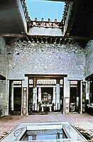 House of the Vetti atrium and impluvium, Pompei Italy, 425 BCE - 79 CE