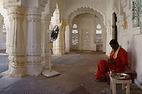 temple area in Fort Mehrangarh, Jodhpur, Rajastan, India