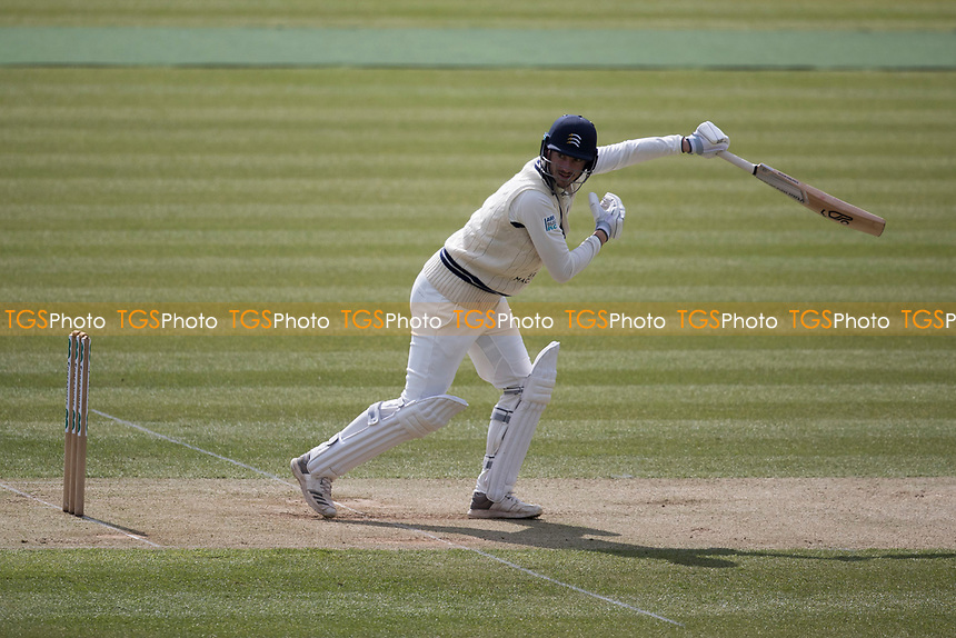 Toby Roland - Jones gets away with an edge during Middlesex CCC vs Lancashire CCC, Specsavers County Championship Division 2 Cricket at Lord's Cricket Ground on 12th April 2019