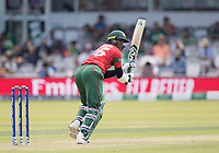 Shakib Al Hasan (Bangladesh) whips off his pads to square leg during Pakistan vs Bangladesh, ICC World Cup Cricket at Lord's Cricket Ground on 5th July 2019