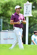 Bethesda, MD - June 26, 2016: Erik Compton (USA) walks up the greens on hole two during Final Round of play at the Quicken Loans National Tournament at the Congressional Country Club in Bethesda, MD, June 26, 2016. (Photo by Philip Peters/Media Images International)