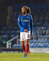 Marcus Harness of Portsmouth during Portsmouth vs Northampton Town, Leasing.com Trophy Football at Fratton Park on 3rd December 2019