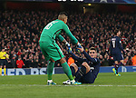 PSG's Marco Verratti looks on dejected after his own goal during the Champions League group A match at the Emirates Stadium, London. Picture date November 23rd, 2016 Pic David Klein/Sportimage