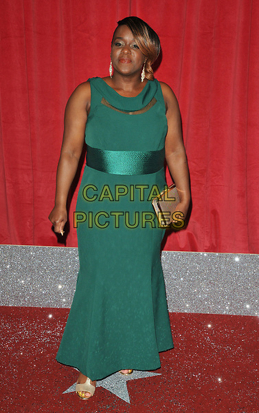 Tameka Empson at the British Soap Awards 2017, The Lowry Theatre, Pier 8, Salford Quays, Salford, Manchester, England, UK, on Saturday 03 June 2017.<br /> CAP/CAN<br /> &copy;CAN/Capital Pictures