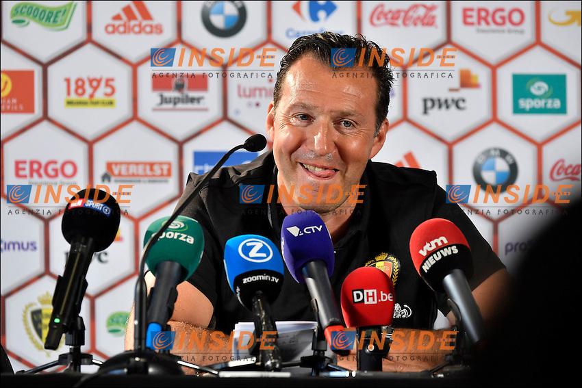 Wilmots Marc head coach of Belgian Team <br /> Bruxelles 04-06-2016 Calcio Amichevole Belgio Norvegia<br /> Foto Photonews/Panoramic/Insidefoto