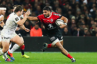 Peato MAUVAKA of Toulouse during the Top 14 match between Toulouse and Toulon at Stade Ernest Wallon on December 29, 2019 in Toulouse, France. (Photo by Manuel Blondeau/Icon Sport) - Peato MAUVAKA - Stade Ernest-Wallon - Toulouse (France)