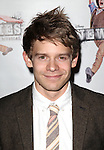 Andrew Keenan-Bolger.attending the 'NEWSIES' Opening Night after Party at the Nederlander Theatre in New York on 3/29/2012