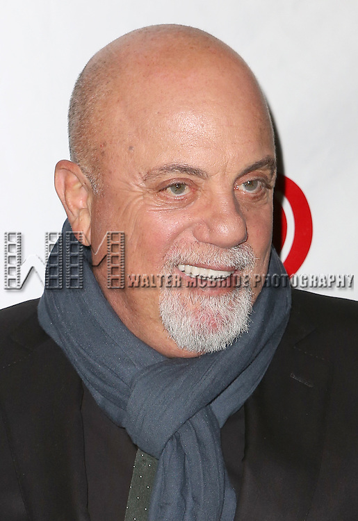 Billy Joel attends the Broadway Opening Night performance of 'The Last Ship' at the Neil Simon Theatre on October 26, 2014 in New York City.