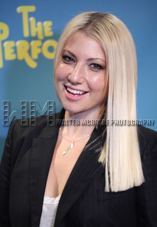 "Actress Ari Graynor attends press event to introduce the cast and creators of the new Broadway play ""The Performers""at the Hard Rock Cafe on Tuesday, Sept. 25, 2012 in New York. (Photo by © Walter McBride/WM Photography//AP)"