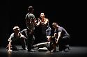 London, UK. 31.05.2016. KiddPivot/Electric Company theatre presents BETROFFENHEIT, at Sadler's Wells. the dancers are: Bryan Arias, David Raymond, Cindy Salgado, Jermaine Spivey, Tiffany Tregarthen, Jonathon Young. Photograph © Jane Hobson.