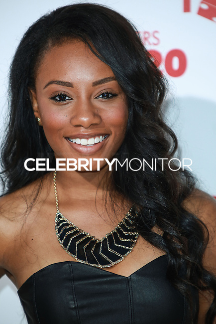 HOLLYWOOD, LOS ANGELES, CA, USA - JUNE 09: Imani Hakim at the Los Angeles Premiere Of Screen Gems' 'Think Like A Man Too' held at the TCL Chinese Theatre on June 9, 2014 in Hollywood, Los Angeles, California, United States. (Photo by David Acosta/Celebrity Monitor)