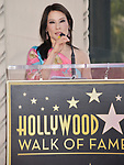 Lucy Liu Honored With Star On The Hollywood Walk Of Fame on May 01, 2019 in Hollywood, California.<br /> a_Lucy Liu 022