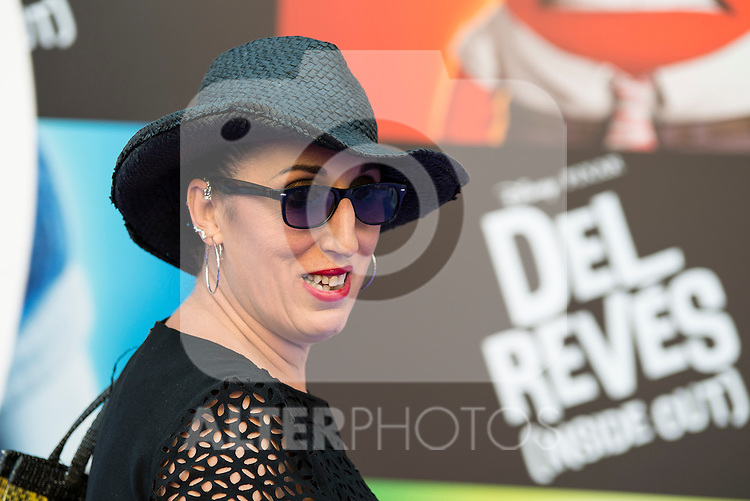 "Rossy de Palma attends to the premiere of the film ""Inside Out ( Al Revés)"" at Callao Cinemas in Madrid, Spain. July 15, 2015.<br />  (ALTERPHOTOS/BorjaB.Hojas)"