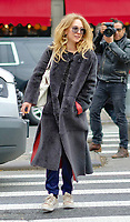www.acepixs.com<br /> <br /> November 14 2017, New York City<br /> <br /> Actress Juno Temple enjoys a cigarette as she walks in the East Village on November 14 2017 in New York City<br /> <br /> By Line: Curtis Means/ACE Pictures<br /> <br /> <br /> ACE Pictures Inc<br /> Tel: 6467670430<br /> Email: info@acepixs.com<br /> www.acepixs.com
