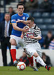 Lee Wallace and Aidan Connolly
