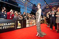 Utrecht, 25 september 2013<br /> Nederlands Film Festival 2013<br /> actrice Anna Raadsveld, premiere Hoe Duur Was de Suiker, openingsavond filmfestival<br /> Foto Felix Kalkman