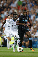 17.09.2012 SPAIN -  Champions League 12/13 Matchday 1th  match played between Real Madrid CF vs  Manchester City at Santiago Bernabeu stadium. The picture show Yaya Toure (Midfielders of Manchester City)