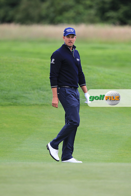 Henrik Stenson (SWE) on the 15th during Round 4 of the 2016 BMW International Open at the Golf Club Gut Laerchenhof in Pulheim, Germany on Sunday 26/06/16.<br /> Picture: Thos Caffrey | Golffile