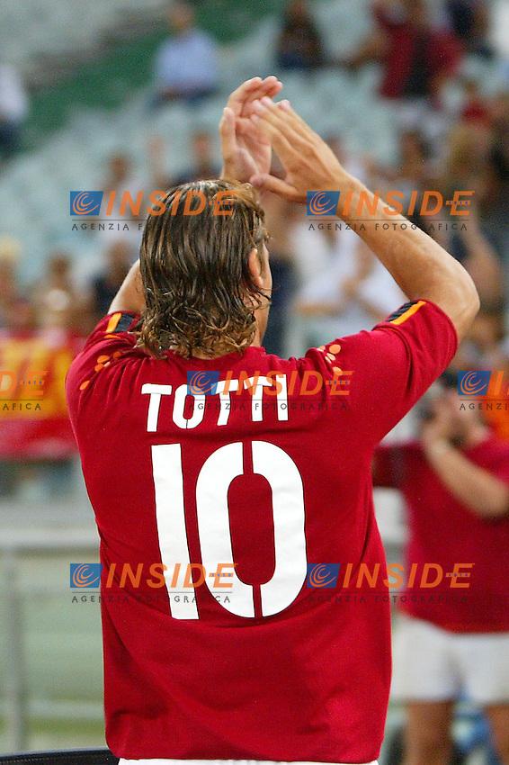 Roma 25/8/2003<br /> Presentazione AS Roma <br /> Francesco Totti  <br /> Foto Staccioli / Insidefoto