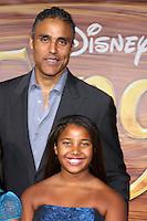 "LOS ANGELES - NOV 14:  Rick Fox, Daughter Sasha Gabriella Fox arrives at the ""Tangled"" World Premiere at El Capitan Theater on November 14, 2010 in Los Angeles, CA"