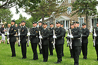 Beloeil (QC)CANADA - July 25 2009-<br /> The family attend the military<br /> Funeral of a Canadian soldier killed in Afghanistan
