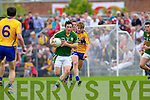 Paul Murphy, Kerry in action against Podge Collins, Clare in the Munster Senior Championship Semi Final in Cusack Park, Ennis on Sunday.