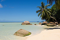 Seychelles, Island Mahe, Anse Boileau: beach at west coast