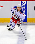 4 December 2008: New York Rangers' center Brandon Dubinsky in action against the Montreal Canadiens at the Bell Centre in Montreal, Quebec, Canada. The Canadiens, celebrating their 100th season, played in the circa 1915-1916 uniforms for the evenings' Original Six matchup. The Canadiens defeated the Rangers 6-2. *****Editorial Use Only*****..Mandatory Photo Credit: Ed Wolfstein Photo