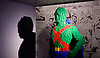 THE ART OF THE BRICK: DC SUPER HEROES <br /> designed by Nathan Sawaya <br /> South Bank, London, Great Britain <br /> 28th February 2017 <br /> <br /> London debut opens on 1st March 2017<br /> <br /> <br /> Martian Manhunter <br /> 3,848 bricks <br /> <br /> <br /> Together with Warner Bros. and DC Entertainment, Nathan Sawaya has created the world&rsquo;s largest collection of artwork inspired by DC's Justice League, including Batman, Superman, Wonder Woman, alongside DC Super-Villains the Joker, Harley Quinn and more.<br />  <br /> <br />  <br /> THE ART OF THE BRICK: DC SUPER HEROES exhibition includes more than 120 original pieces, created exclusively from LEGO bricks, including a life-size Batmobile (5.5 meters) and built from half a million standard pieces. Sawaya has captured on a real scale some of the most iconic Super Heroes and Super-Villains from DC, exploring more than 80 years of history.<br /> <br /> <br /> <br /> Photograph by Elliott Franks <br /> Image licensed to Elliott Franks Photography Services