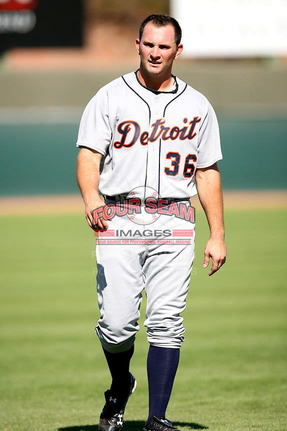 Casper Wells / Mesa Solar Sox 2008 Arizona Fall League..Photo by:  Bill Mitchell/Four Seam Images