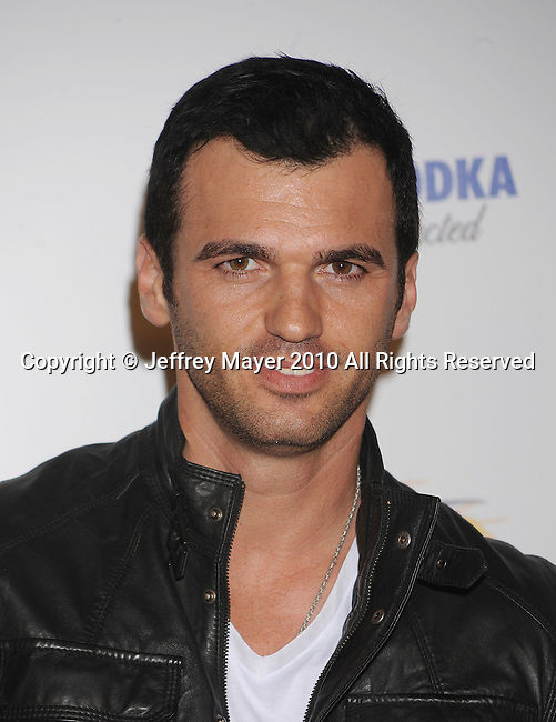 LOS ANGELES, CA. - May 19: Driton 'Tony' Dovolani arrives at the 11th Annual MAXIM HOT 100 Party at Paramount Studios on May 19, 2010 in Los Angeles, California.