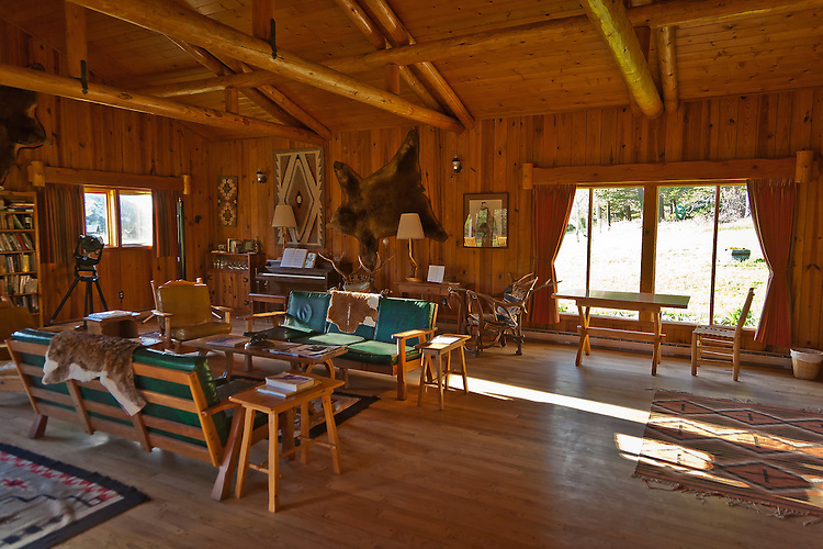 The Nature Conservancy's Pine Butte Guest Ranch and Preserve located on the Rocky Mountain Front near Choteau, Montana.