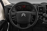 Car pictures of steering wheel view of a 2017 Citroen Jumper Combi Confort 4 Door Combi