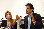 Jemima Khan and Imran Khan at Blenheim Palace during the Woodstock Literary Festival, Oxfordshire, UK, 18 September 2011...PHOTO COPYRIGHT GRAHAM HARRISON .graham@grahamharrison.com.+44 (0) 7974 357 117.Moral rights asserted.
