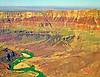 Aerial photograph of the Grand Canyon & the Colorado River