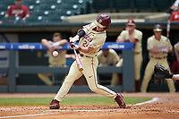 Matt Henderson (24) of the Florida State Seminoles at bat against the North Carolina Tar Heels in the 2017 ACC Baseball Championship Game at Louisville Slugger Field on May 28, 2017 in Louisville, Kentucky. The Seminoles defeated the Tar Heels 7-3. (Brian Westerholt/Four Seam Images)