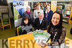 Kerry Archaeological and Historical Society celebrating 50 years with their Golden Jubilee seminar starting February 14th  at the Kerry LIbrary Tralee. Pictured Marie O'Sullivan, Society President with members   Kathleen Brown, Fr. Tomas B. O'Luanaigh, Maureen Hanafin, Pegi Ni Sheaghdha  Ann Myles