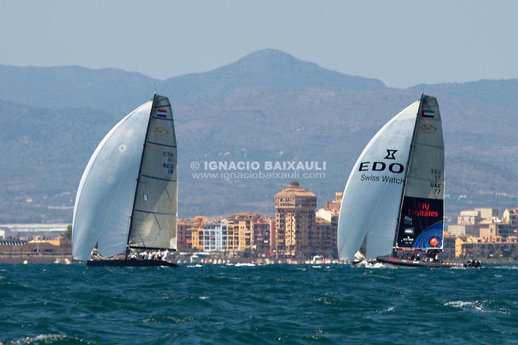 RC44 training day. RC44 Valencia Cup, Marina Real Juan Carlos I, Valencia, Spain