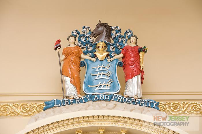 Assembly Chamber, New Jersey Legislative State House, Trenton, New Jersey