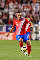 Harrison, NJ - Friday Sept. 01, 2017: David Guzmán during a 2017 FIFA World Cup Qualifier between the United States (USA) and Costa Rica (CRC) at Red Bull Arena.
