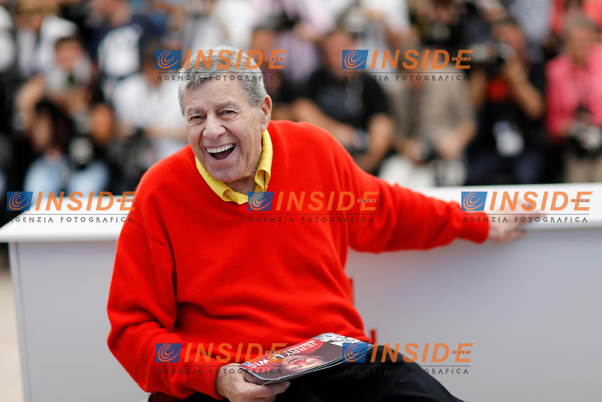 Jerry Lewis .Cannes 23/5/2013 .66mo Festival del Cinema di Cannes 2013 .Foto Panoramic / Insidefoto .ITALY ONLY
