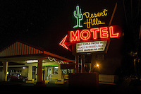 Desert Hills Motel on Route 66 in Tulsa Oklahoma.