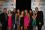 All My Children's Susan Lucci and cast AMC - Jacob Young, Brianne Moncrief, Cornelius Smith Jr, Denise Vasi, Chrishell Stause, Richy Paull Goldin, Melissa Claire Egan and Cameron Mathison attend the after party of ABC and SOAPnet's Salutes to Broadway Cares/Equity Fights Aids on March 9, 2009 at the New York Marriott Marquis, New York, NY.  (Photo by Sue Coflin/Max Photos)